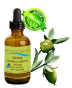 Botanical Beauty ORGANIC GOLDEN JOJOBA OIL 100% Pure. For Face, Hair and Body. 0.5 Fl.oz.- 15 ml.
