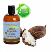 Botanical Beauty African Shea Nut Oil, 100% Pure/ Natural. For Face, Body and Hair 1 oz- 30 ml
