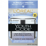 L'Oreal Paris Youth Code Dark Spot Correcting, Illuminating Day Cream, Spf 30, 45ml
