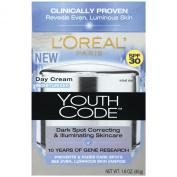 L'Oreal Paris Youth Code Dark Spot Correcting, Illuminating Day Cream, Spf 30, 45ml
