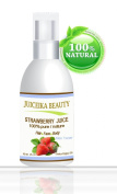 Juiceika Strawberry Fruit Juice 100% Pure/ Natural Juice for Face, Hair and Body 2 oz- 60 ml