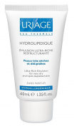 Uriage Hydrolipidique Ultra Rich Emulsion for Very Dry, Lipid-depleted and Prone to Atopy Skin 40 Ml