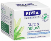 German Nivea Visage Pure & Natural Day Cream for Normal / Combination Skin 50 Ml