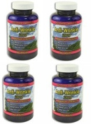 (4) Anti-Wrinkle Max Supplements 240 capsules w/ Resveratrol, Alpha Lipoic Acid, Collagen, DMAE, Hyaluronic +Pills