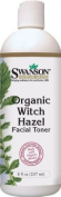 Natural Organic Witch Hazel Facial Toner 8.5 fl oz (250 ml) Liquid