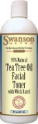Tea Tree Oil Facial Toner 8 oz (237 ml) Liquid