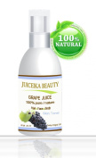 Juiceika Grape Juice 100% Pure/ Natural Juice for Face, Hair and Body 2 oz- 60 ml