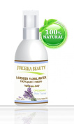Juiceika Organic Lavender Floral Water 100% Pure/ Natural for Face, Hair and Body 2 oz- 60 ml