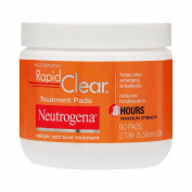 Neutrogena Rapid Clear Treatment Pads, 60 Count
