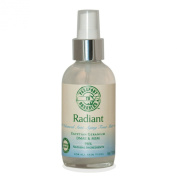 Organic Radiant Advanced Anti-Ageing Toner with Egyptian Geranium, DMAE, MSM, Paraben Free
