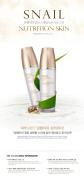 KOREAN COSMETICS, Skin 79, Snail Nutrition Skin 120ml (snail slime filtrate 30% ,Whitening anti-wrinkle moisturising, shiny skin)[001KR]