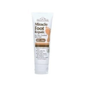 Miracle of Aloe Miracle Foot Repair Cream 120ml As Seen On TV Guarantees to Repair Dry, Cracked Feet & Heels! Helps Stop Itching & Unpleasant Odours Quick, Fast, Easy and Completely Painless! Contains 60% Ultra Aloe, All Natural Formula. Penetrates Dee ..