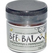 Black Hills Honey Farm, Bee Balm, Sinus Remedy, Eucalyptus and Peppermint, 25ml