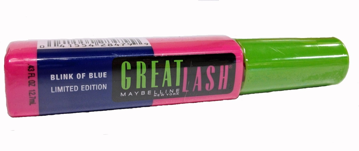 bb15347be5c Maybelline Great Lash Mascara, Blink Of Blue by Maybelline Jade ...