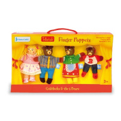 Tellatale Goldilocks Finger Puppet Set