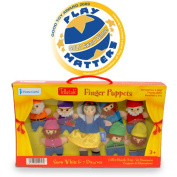 Tellatale Snow White Finger Puppet Set