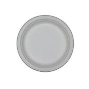"Compostable Tableware, 10"" Plate, Beige, 500/Box"