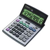 Canon 8507A010 BS-1200TS Desktop Calculator 12-Digit LCD Display Black-Silver