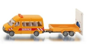 Siku Transporter with Road Safety Trailer