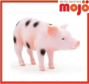 MOJO SPOT PIGLET HAND PAINTED REPLICA FARM ANIMAL COLLECTABLE TOY FIGURE 387094