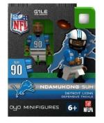 OYO Football NFL Building Brick Minifigure Ndamukong Suh [Detroit Lions]