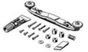 Front Sliding Damper Roller set Mini 4WD Grade up parts