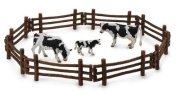 CollectA 89463 Log Fence Corral for Horses Cows Animal Toy Good