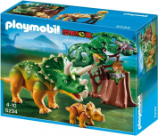 Playmobil 5234 Explorer and Triceratops with Baby