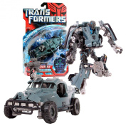 Hasbro Year 2007 Transformers Movie All Spark Power Series Deluxe Class 15cm Tall Robot Action Figure - Autobot LANDMINE with Cryo Shock Rifle (Vehicle Mode