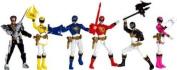 Power Rangers Megaforce Exclusive 10cm Action Figure Power Rangers Action Pack [Set of 6]