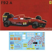 GP SP15 1/20 Ferrari F92 A w/cartograf & Etching Parts