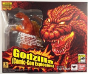 2012 Comic Con SDCC Excluisve Bandai S.H. MonsterArts Burning Godzilla Action Figure
