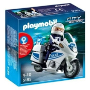 Playmobil 5185 Police Motorcycle