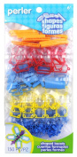 Perler Beads Perler Shapes Bead Bag, Primary Colour Mix