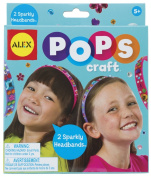 Alex Pops Craft 2 Sparkly Headbands