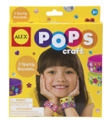 Alex Pops Craft 3 Sparkly Bracelets