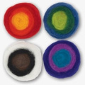 Dimensions Feltworks Multi Colour Roving Rolls