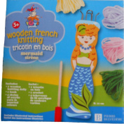Pierre Belvedere Toy Wooden French Knitting Kit - Mermaid