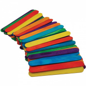 Jumbo Craft Sticks-Coloured 15cm 50/Pkg