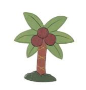 Darice 9191-18 Painted Carve Wood Palm Tree