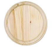 Darice 9179-65 Wooden Round Plaque, 18cm