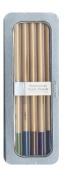 Pebbles PEB742136 5-Colour Pastel Shades Shimmer Chalk Pencil Set
