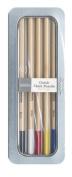Pebbles PEB742132 5-Colour Basics Classic Chalk Pencil Set
