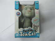 Talking TOM CAT Toys Cartoon Recording Toys with Yellow Ear