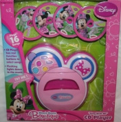 """Disney Minnie Mouse Bow-Tique """"Sing with Me"""" CD Player"""