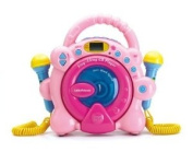 60 Second Anti-Skip Protection - Sing Along CD Player Hot Pink Special Limited Edition