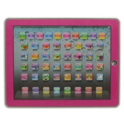 Y-pad Ypad PINK Colour English Computer Table Learning Education Machine Tablet Toy Gift for Kids Children