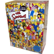 Cardinal Industries Simpsons Trivia in a Box Board Game