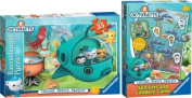 Puzzle Octanauts Sea Eels and Ladders Game Ravensburger