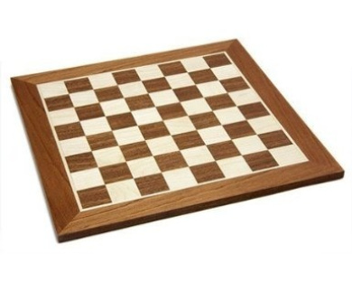 48cm Inlaid wooden chess board. No. 5